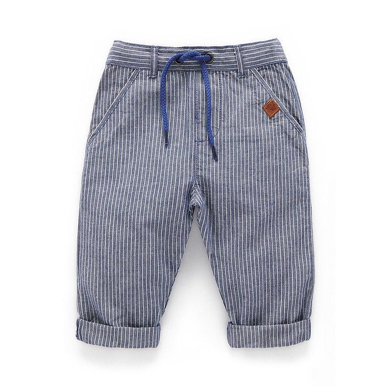 澳洲Purebaby有機棉男童休閒長褲12M~4T