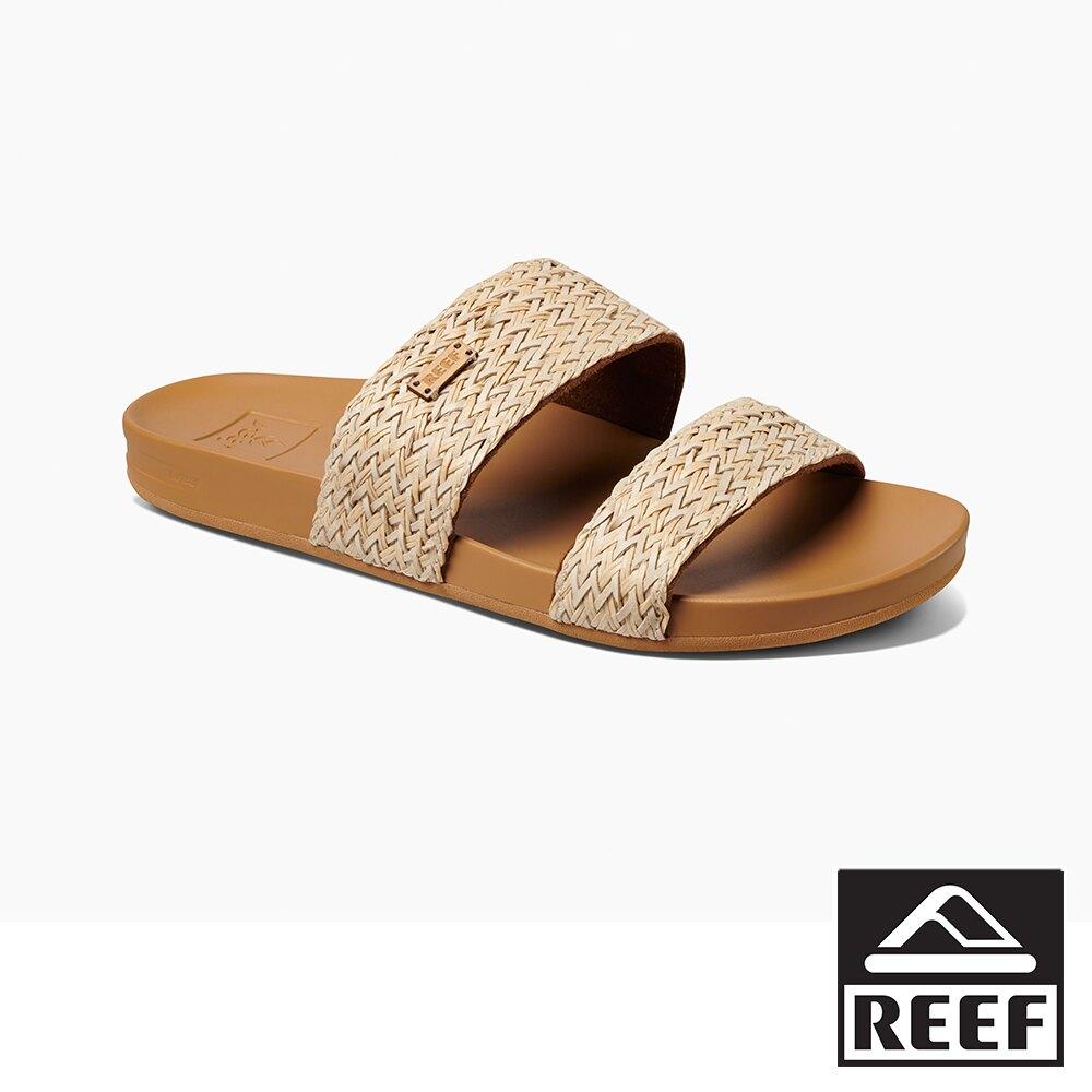 REEF  非夾腳系列兩段式彈力鞋床 女款拖鞋 - 米色 S21 RF0A52OAVIN