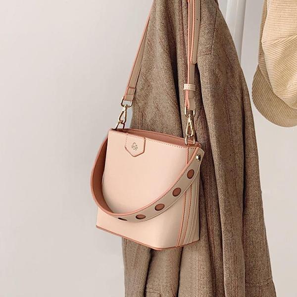 Micocah「奶茶橘子」包包新款斜背包女百搭單肩水桶包時尚 時尚芭莎