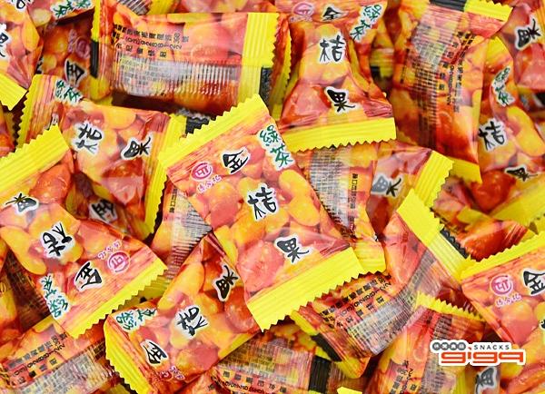 【吉嘉食品】德合記 綠茶金桔喉糖 200公克,綠茶金桔果 [#200]{2CR01-1}