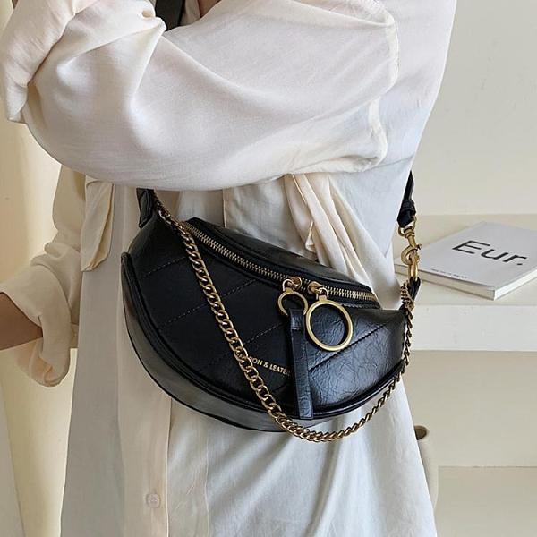 超火包包女新款網紅腰包潮韓版時尚百搭單肩斜挎胸包 時尚芭莎