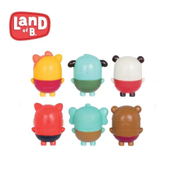 美國【B.TOYS】水球膠囊3入/組(2款可選) 戲水玩具 洗澡玩具 幼兒玩具-米菲寶貝