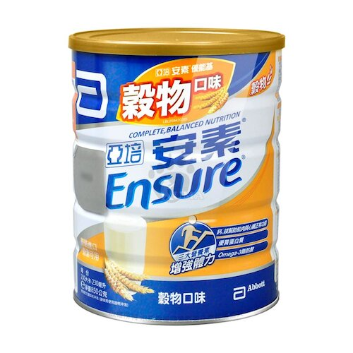 亞培 安素 優能基均衡營養配方(穀物口味) 850g (2罐)