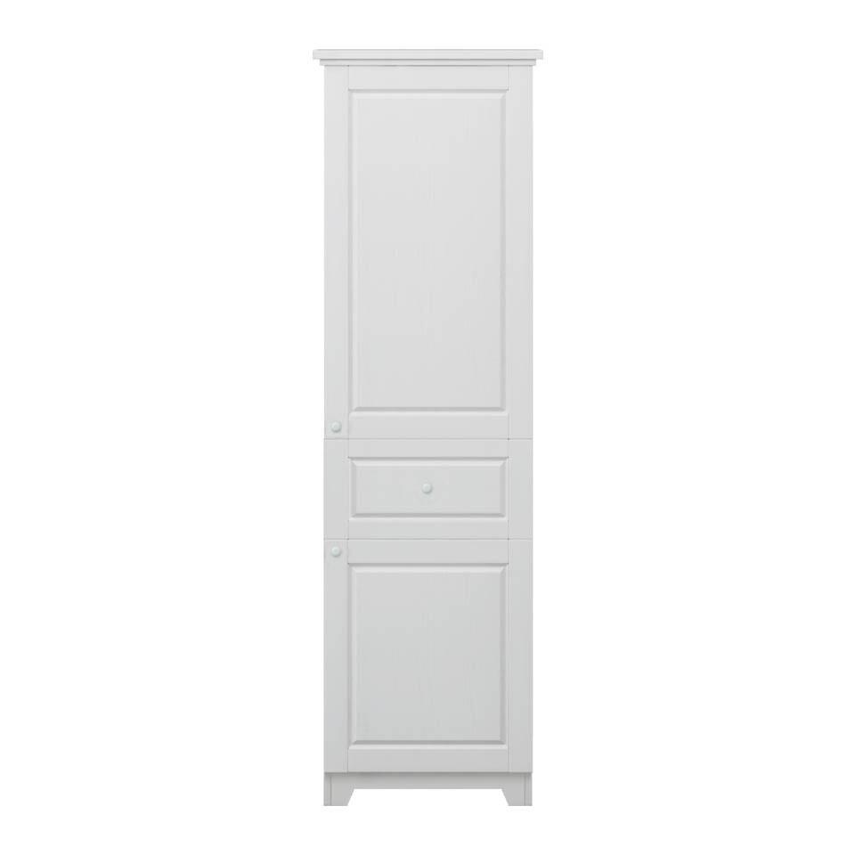arkhouse新古典風格上下右開門單抽b款餐廳高櫃w66*h182.1*d43