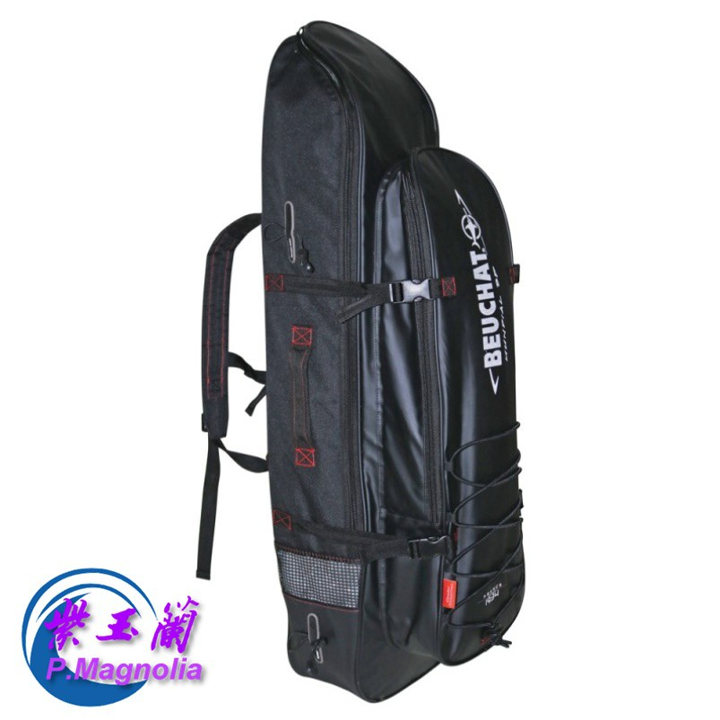 Beuchat 長蛙鞋裝備袋-紫玉蘭- MUNDIAL BACKPACK 2