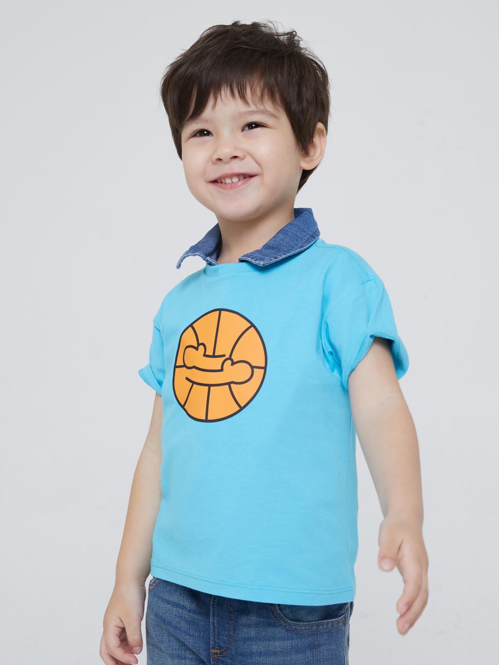 幼童 Gap x Ken Lo 藝術家聯名系列純棉短袖T恤
