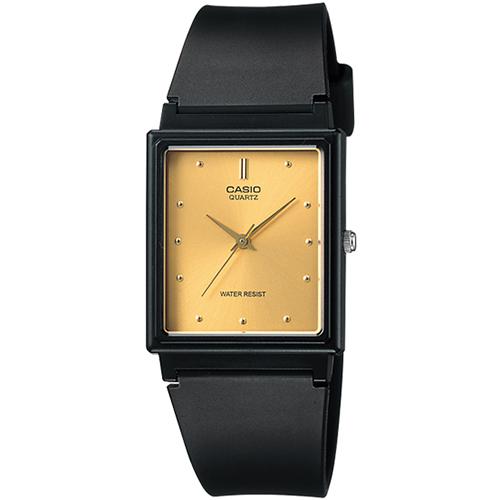 【下單抽・西堤雙人餐】現貨 CASIO 卡西歐 MQ-38-9A 知性輕巧復古方框腕錶/金 MQ-38-9ADF 熱賣中!