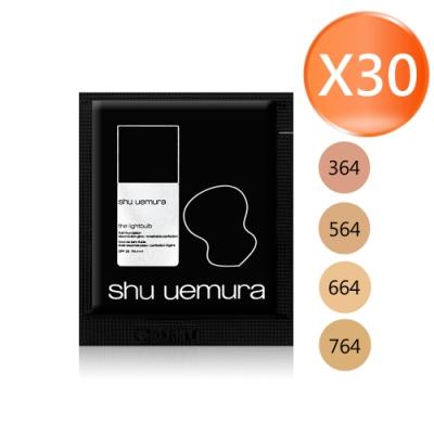 shu uemura 植村秀 天生光圈鑽石光粉底液 SPF25 PA+++ 1mlX30