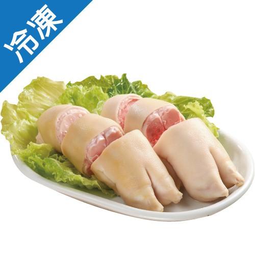 台灣珍豬冷凍豬腳圈 1kg/盒【愛買冷凍】