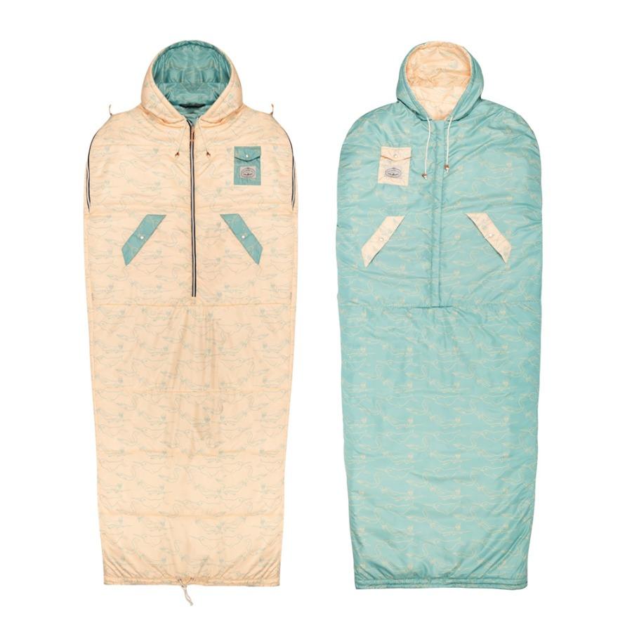 POLER THE NAPSACK 可雙面穿人形睡袋 / 奶油黃 . 藍  / 限量商品
