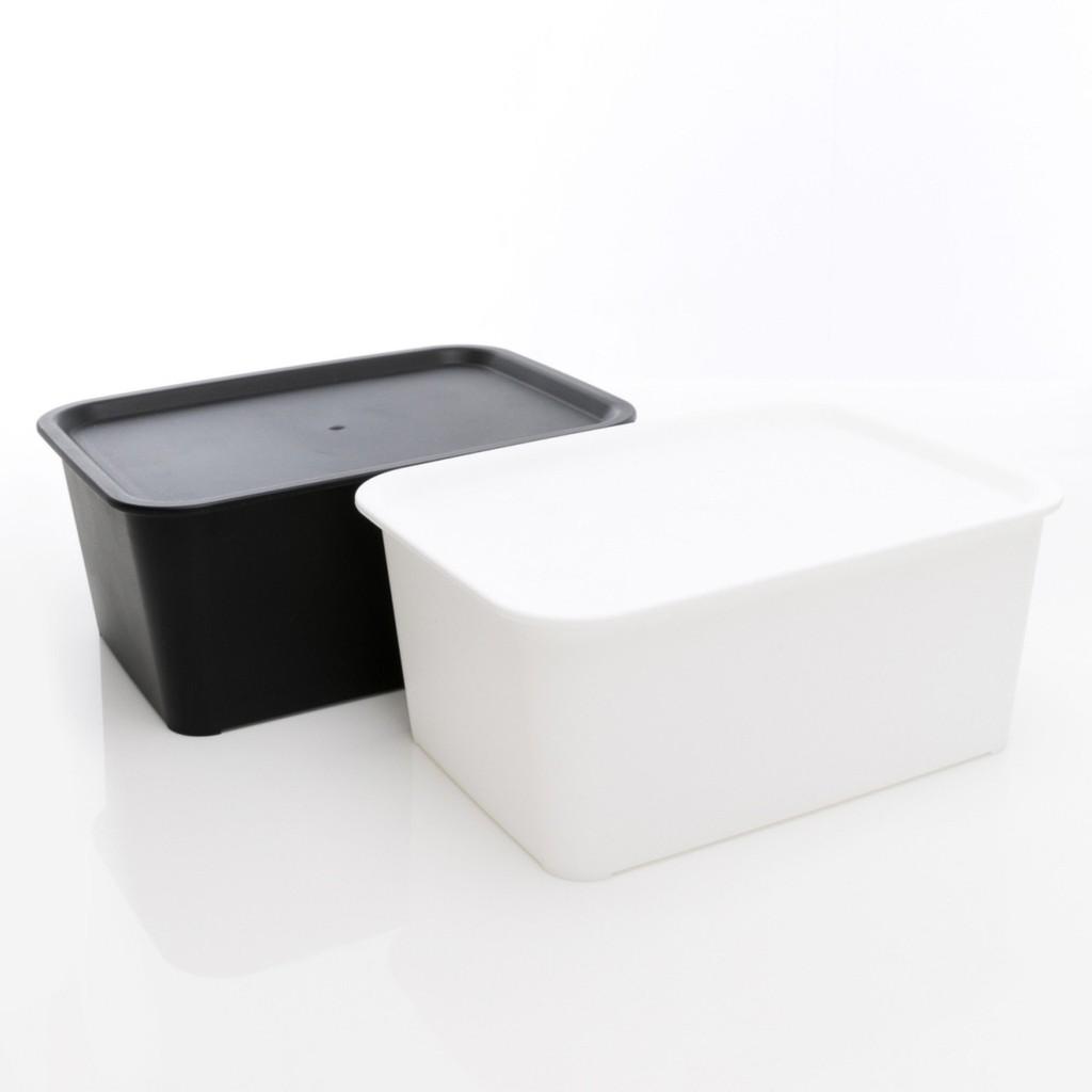 日本製 黑白品味 收納盒 桌上收納 置物盒【hello__japan】