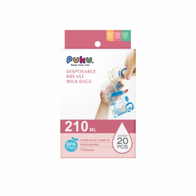 【PUKU】母乳儲存袋210ml-20枚入