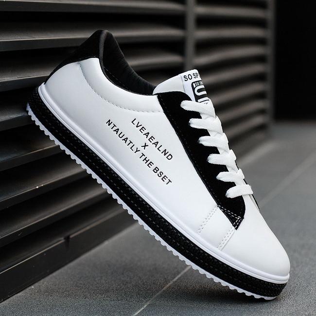 FOFU-(任二雙888)低筒休閒鞋韓版運動時尚潮學生板鞋【09S2684】