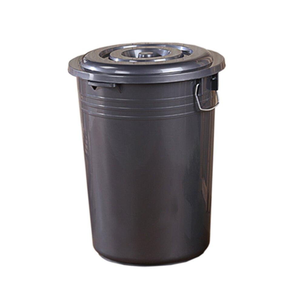 《真心良品》銀采儲水萬用收納桶86L-2入組