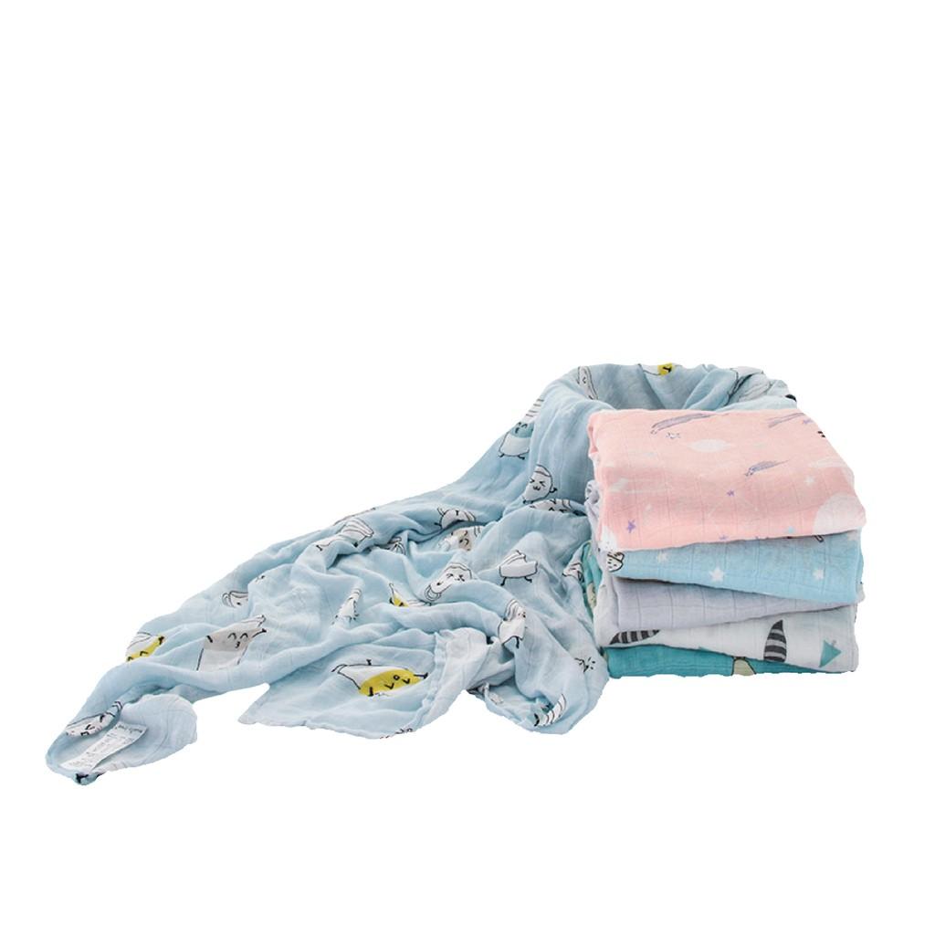 【muslin tree正品】100%竹纖維紗布包巾【最極緻柔軟】紗布巾/夏季蓋毯/推車蓋毯
