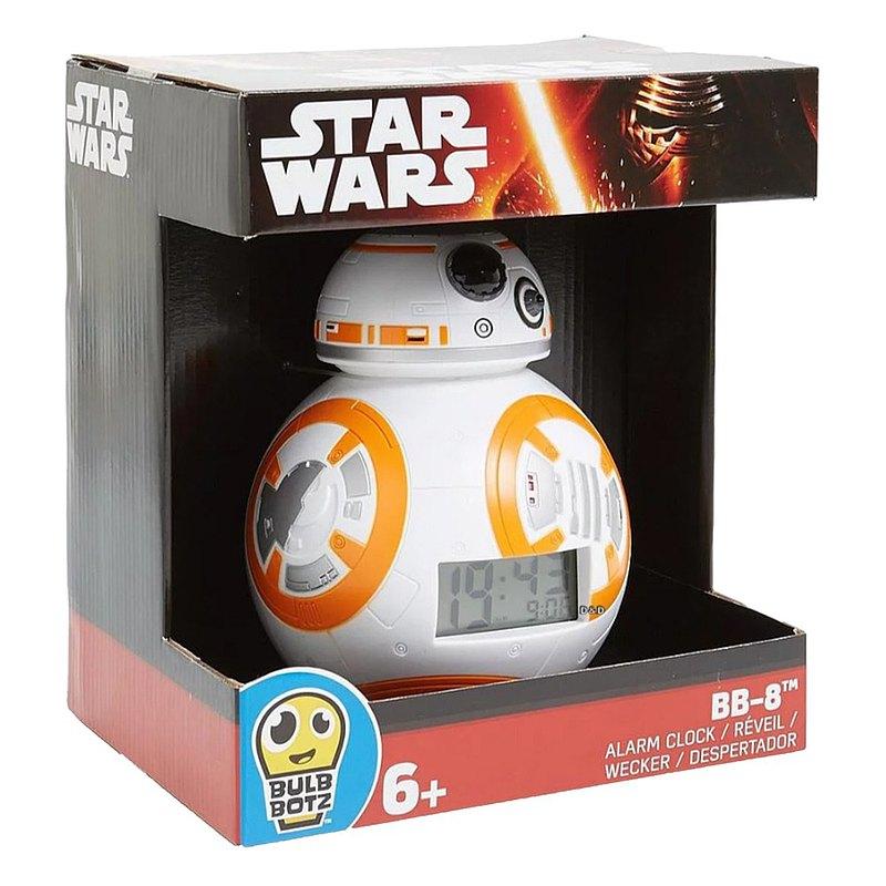 LEGO BulbBotz 夜燈鬧鐘 星際大戰 BB-8 (7.5 INCH) - 2020633
