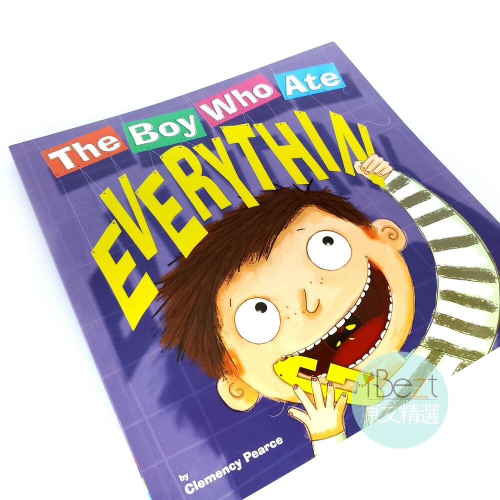The Boy Who Ate Everything | 外文 | 繪本 | 爆笑 | 逗趣圖畫 | 喜劇型文章 | 想像力