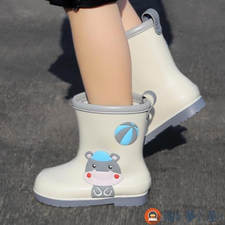 兒童雨鞋男女童小童防滑輕便水鞋寶寶套鞋防水雨靴特惠促銷