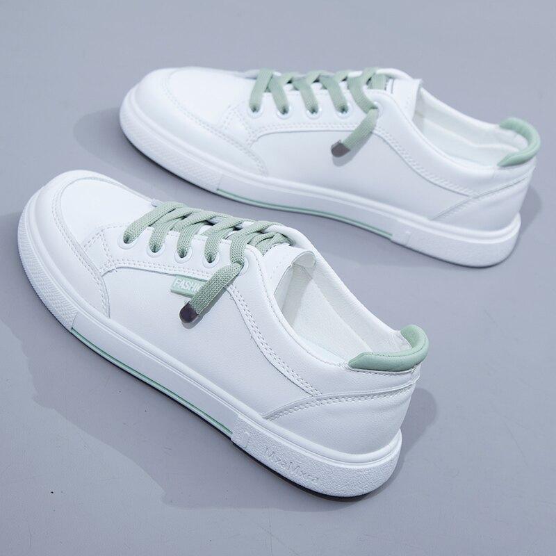 小白鞋女 鞋子女2021年春季新款百搭小白女鞋運動平底休閒爆款2021夏板鞋