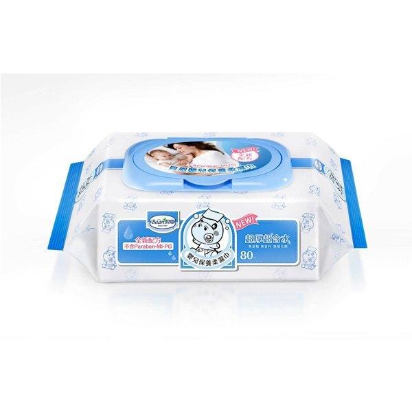 貝恩Baan 嬰兒保養柔濕巾-無香料80抽x24包(箱購)