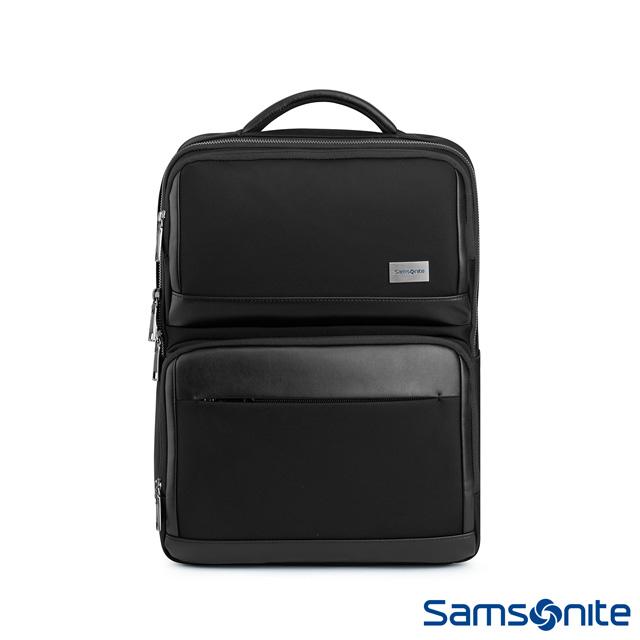 Samsonite新秀麗 WALDER輕商務大容量筆電後背包 15.6