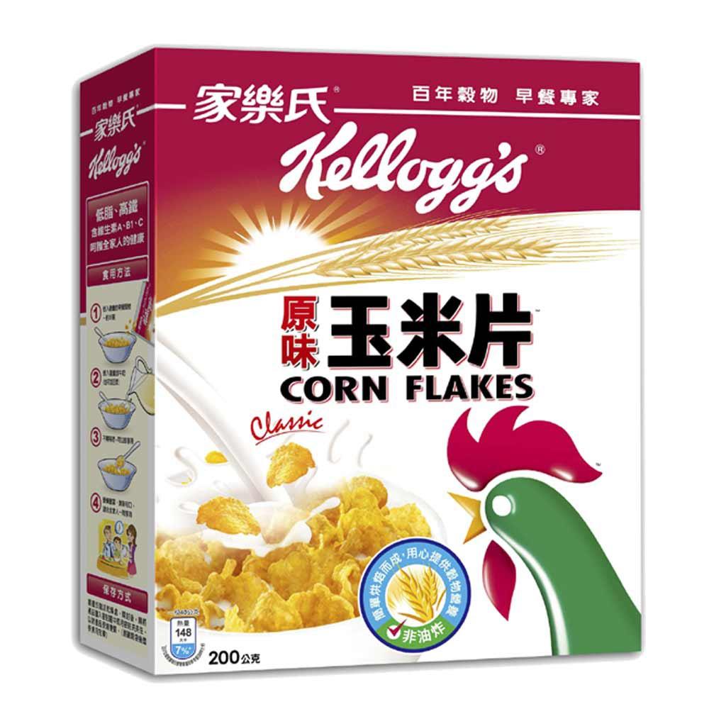 家樂氏原味玉米片 200g