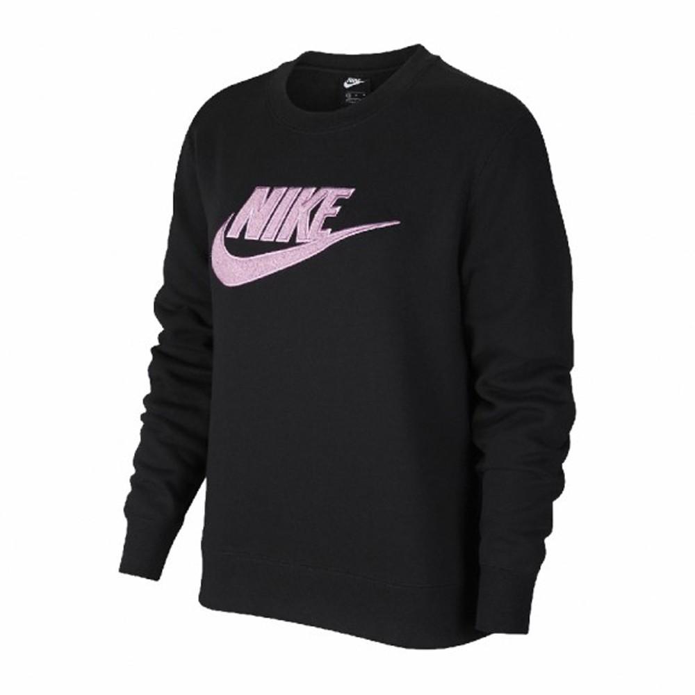 NIKE Essential Sweatshirt 女款 大學T 內刷毛 黑 DC5139010 Sneakers542