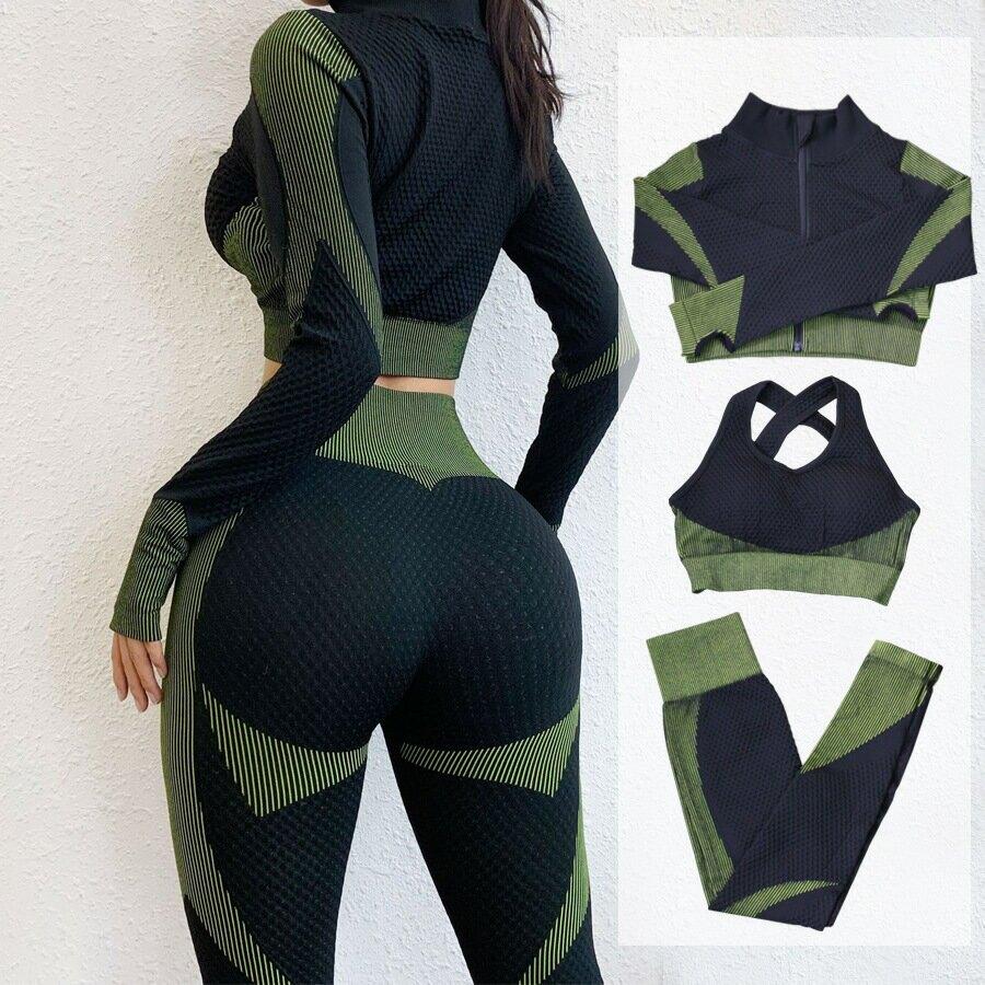歐美短款運動外套女顯瘦長袖緊身性感瑜珈上衣速乾跑步網紅健身服