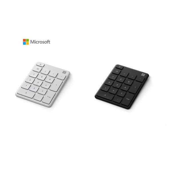 微軟 Microsoft 藍牙數字鍵盤 霧光黑 月光灰 藍牙5.0 3台裝置 智慧切換 無線鍵盤 Number Pad