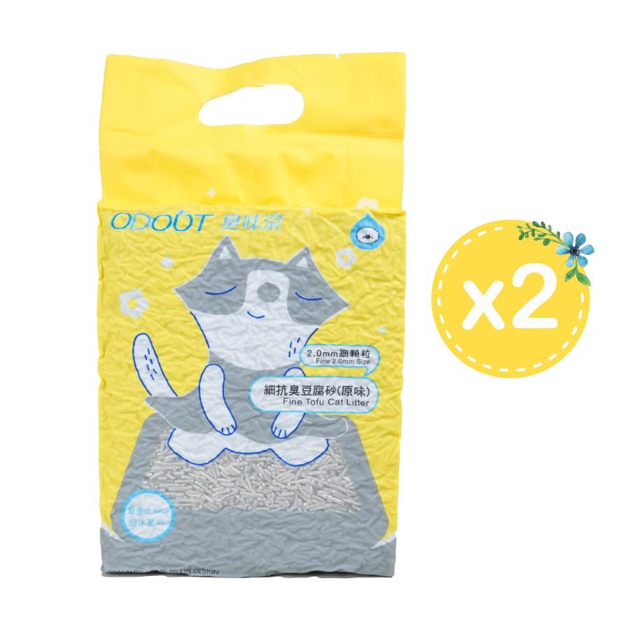 【臭味滾】細抗臭豆腐貓砂2.0mm 6L/兩入組