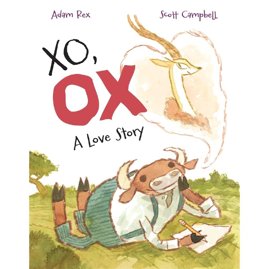Xo, Ox ─ A Love Story【禮筑外文書店】(精裝)[79折]
