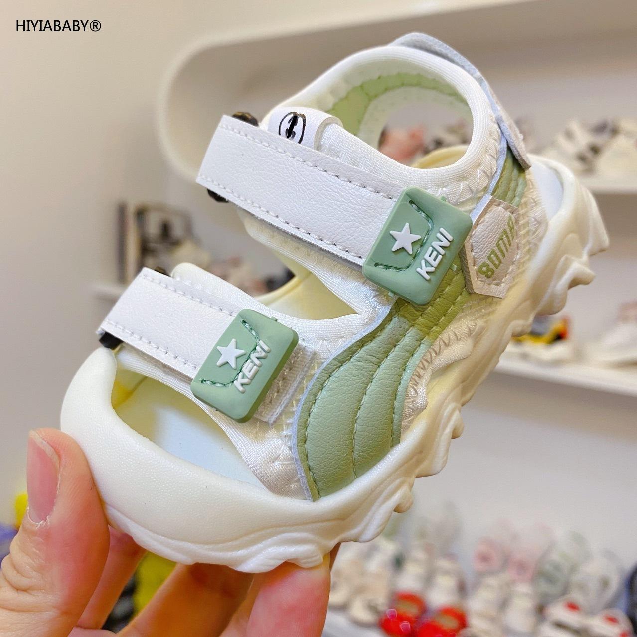 嬰兒鞋子軟底學步鞋夏嬰幼兒寶寶新款女寶寶涼鞋包頭男童