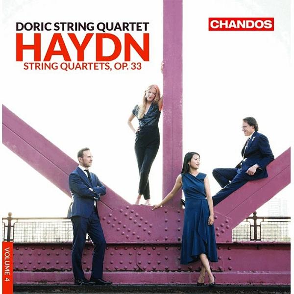 【停看聽音響唱片】【CD】海頓:6首四重奏作品33號 多利克弦樂四重奏 (2CD)