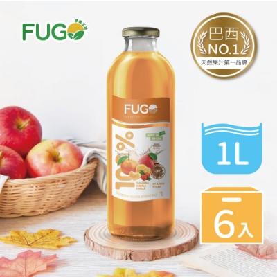 巴西FUGO孚果工坊 100%純天然綜合果汁(1Lx6入)