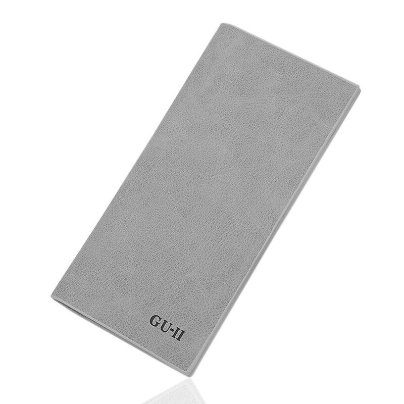 男士錢包潮牌長款新款學生日系簡約皮夾卡包網紅超薄時尚復古