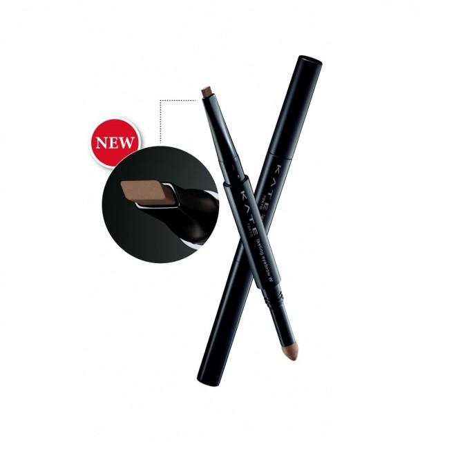 凱婷 雙用立體眉彩筆W銳角扁平芯 BR-1 明亮棕 0.5g