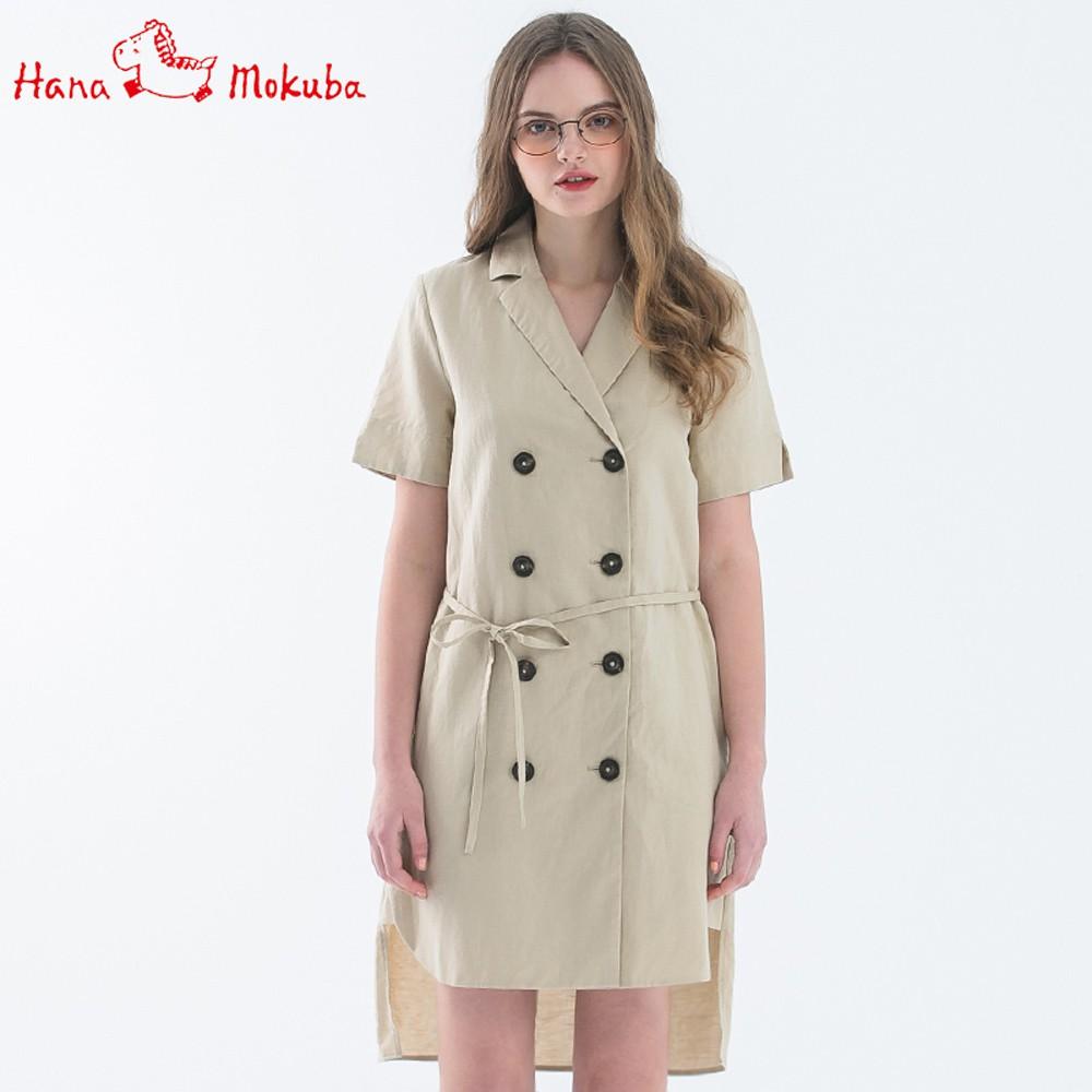 【Hana Mokuba】花木馬日系女裝西裝領短袖外套