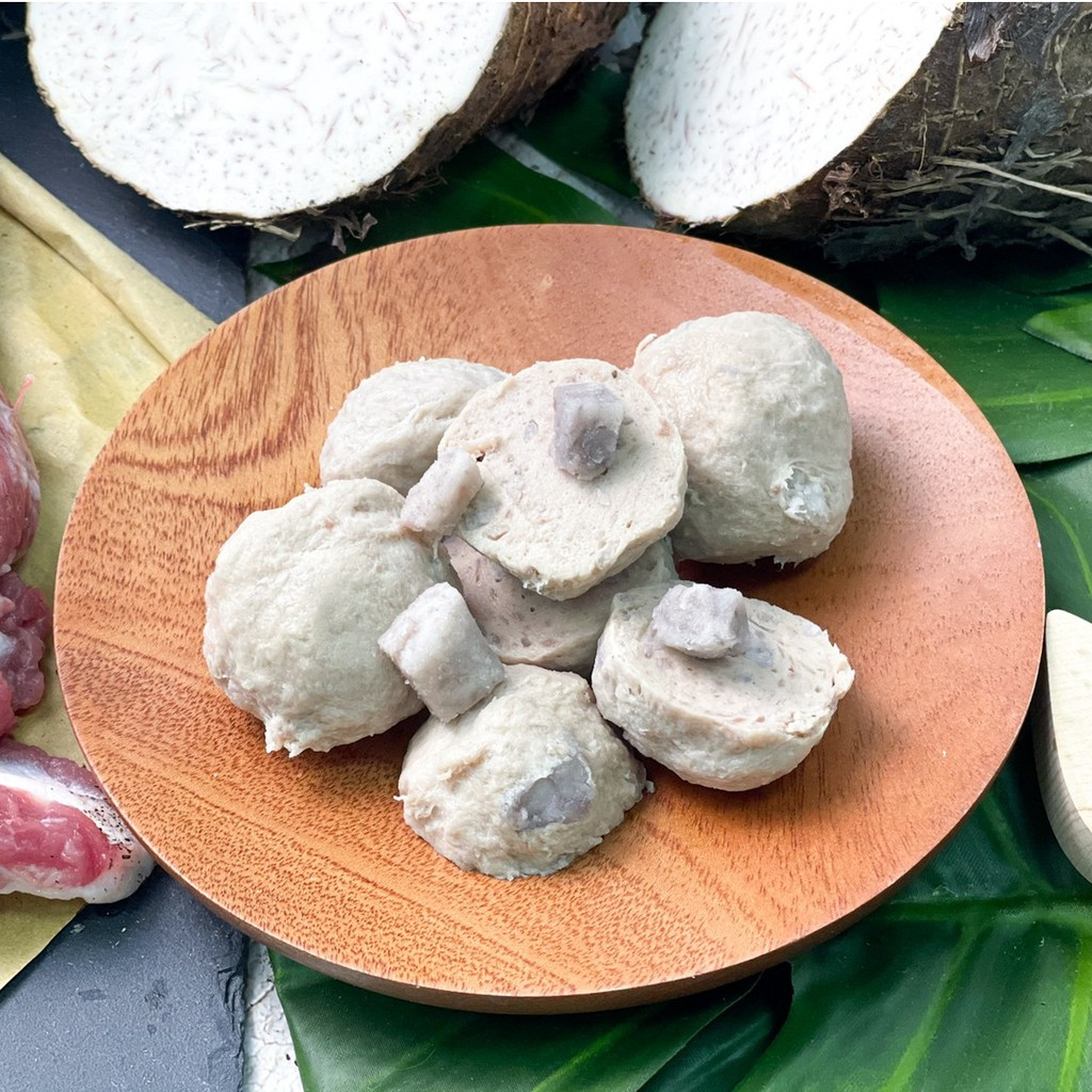 手工豬肉芋頭貢丸-600g(低溫宅配)