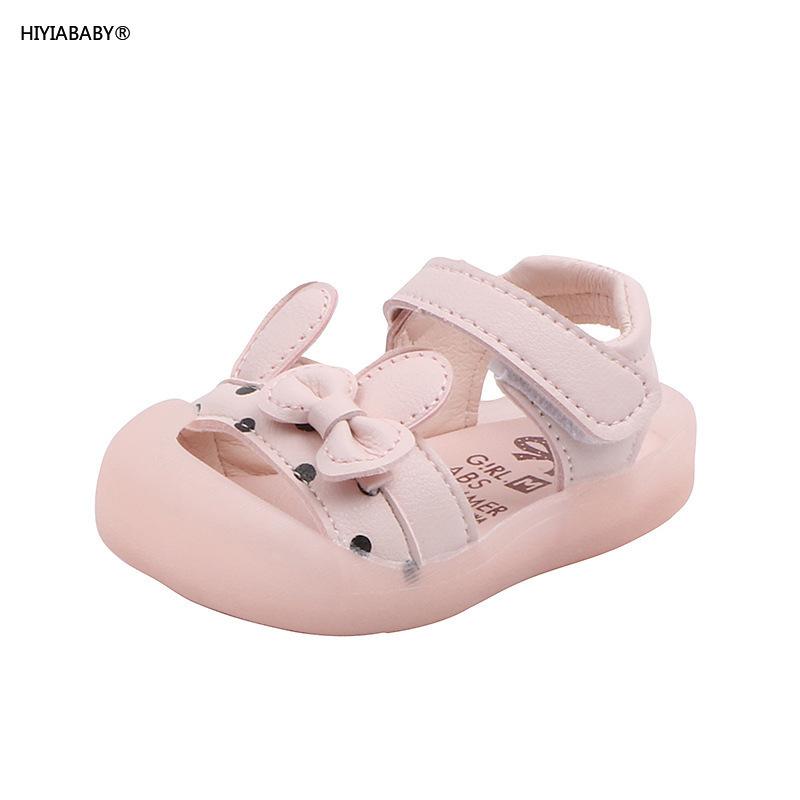 夏季新款嬰兒鞋女童寶寶學步鞋軟底防踢小公主涼鞋
