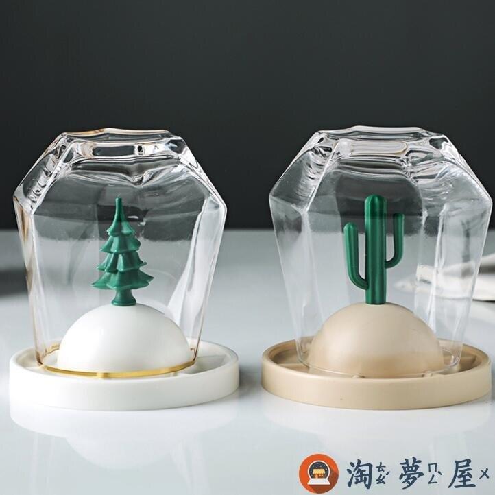 【8個裝】四季物語裝飾杯架玻璃杯置物架水杯收納瀝水架特惠促銷