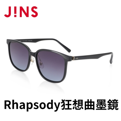 JINS Rhapsody 狂想曲ARTISTIC CHIC墨鏡(ALRF21S053)黑色