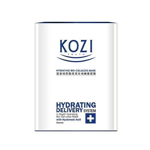 【買一送一】KOZI蔻姿玻尿酸保濕生物纖維面膜5入【寶雅】