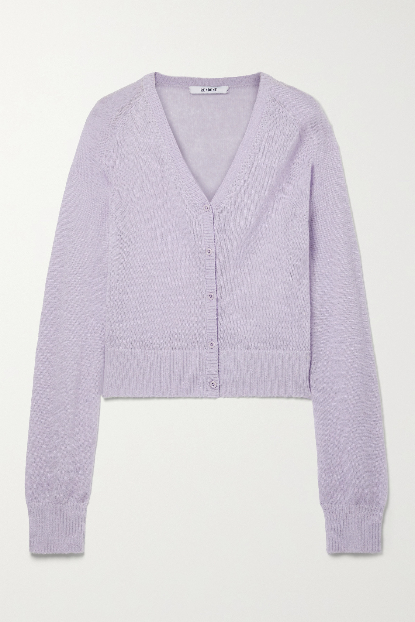 RE/DONE - 60s Knitted Cardigan - Purple - small