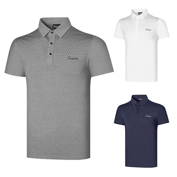 高爾夫 高爾夫服飾男士短袖golf衣服戶外運動休閑打底外穿Polo衫透