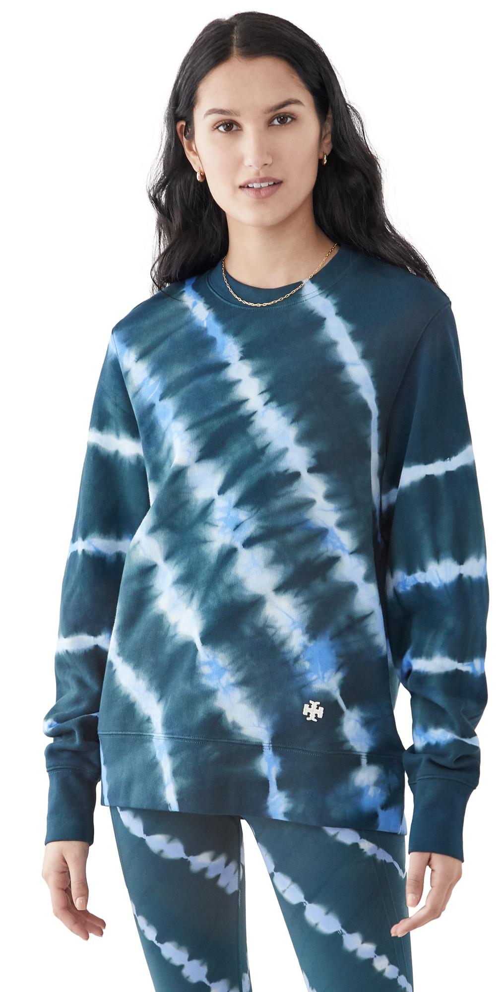 Tory Sport Tie Dye Pullover