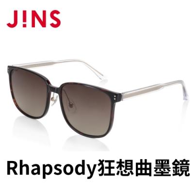 JINS Rhapsody 狂想曲METHODIC SENCE墨鏡(AMRF21S048)木紋暗棕