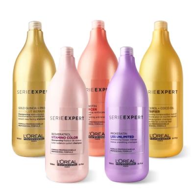 L OREAL萊雅 絲漾博洗髮精全系列 1500ml (附壓頭) 台灣原廠公司貨