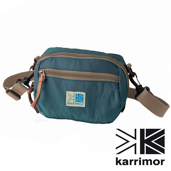 【karrimor】VT pouch 二用包 1.2L『軍團藍』SU-GSBH 登山.露營.休閒.旅遊.戶外.側背包.腰包