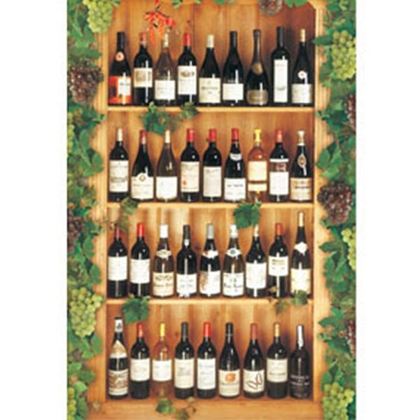 【台製拼圖】夜光-葡萄酒瓶(1000片) HM1000-139
