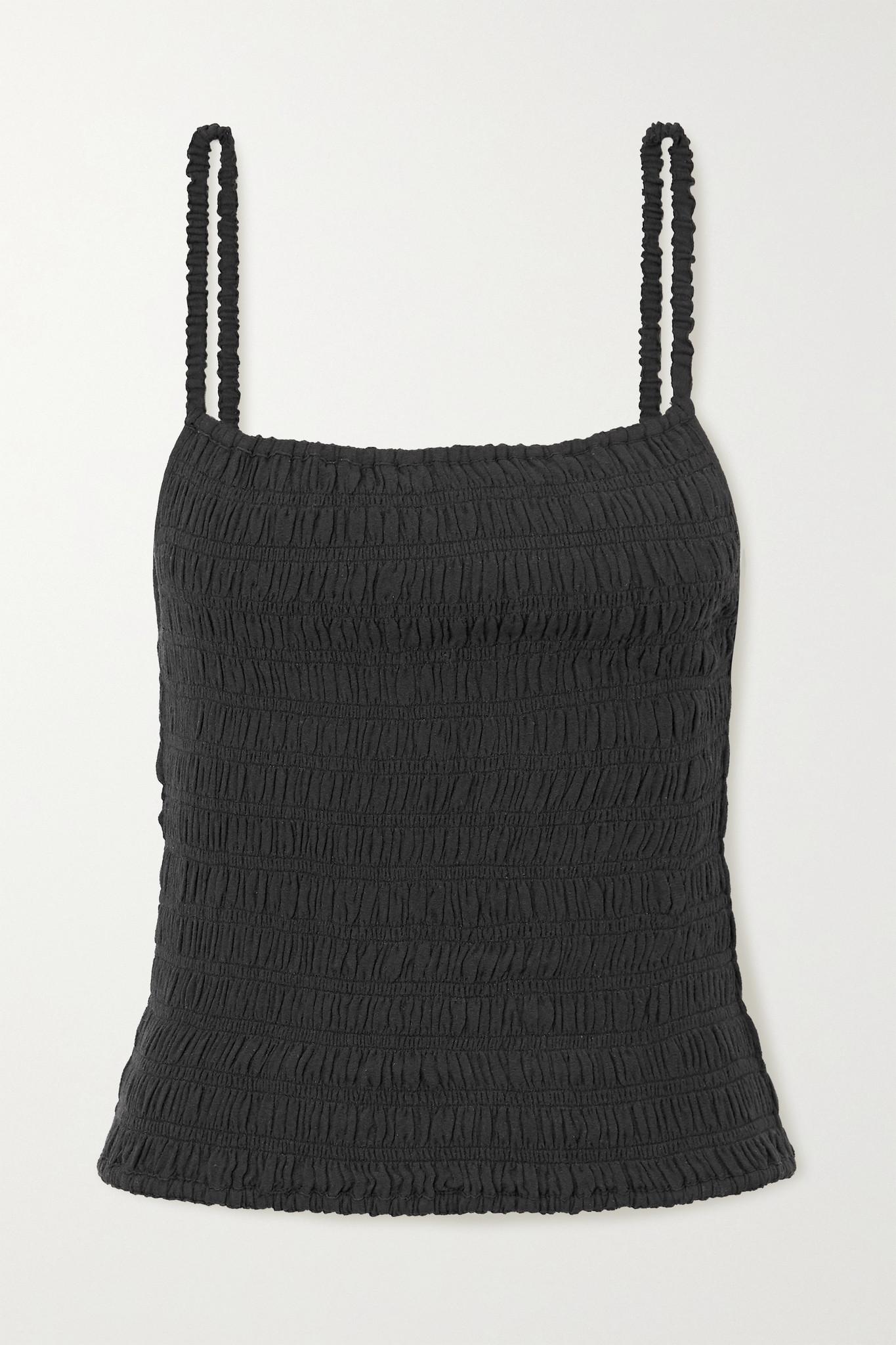 TOTÊME - 皱褶装饰梭织上衣 - 黑色 - DK34